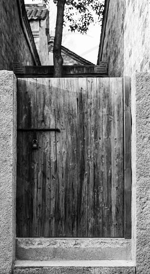 Locked the door photo