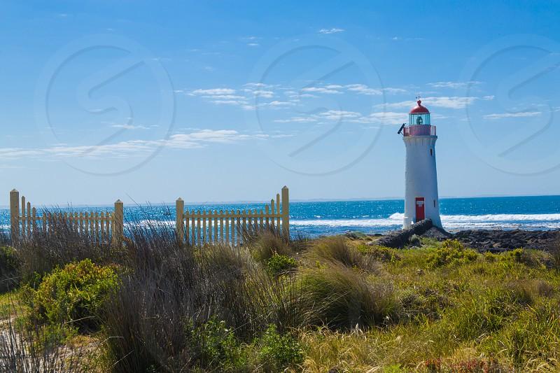 Griffith Island Lighthouse Port Fairy GOR Australia photo