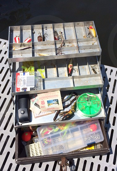 Fishing Tackle Box photo