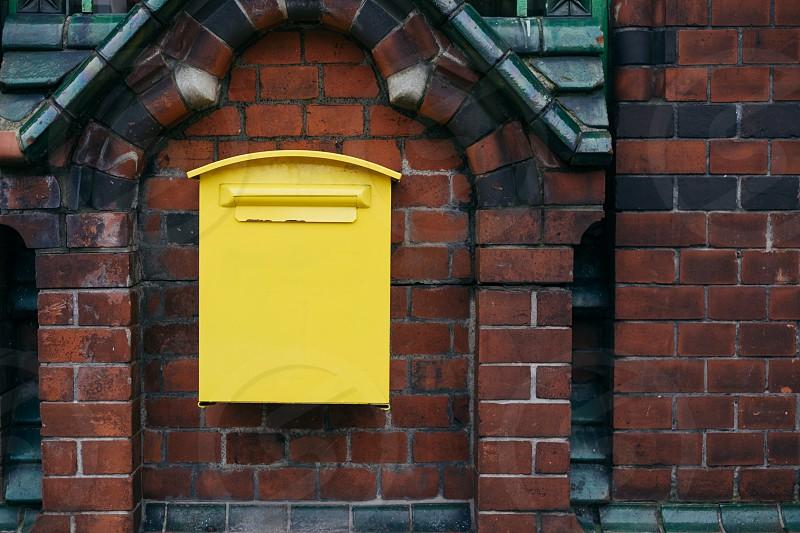 Yellow mailbox photo