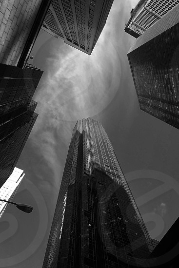 New York skyscrapers photo