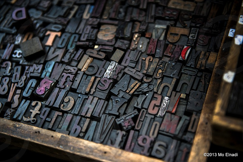 Vintatge Typesetting collection photo