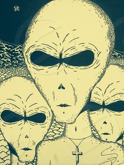 Aliens at Area 51 photo
