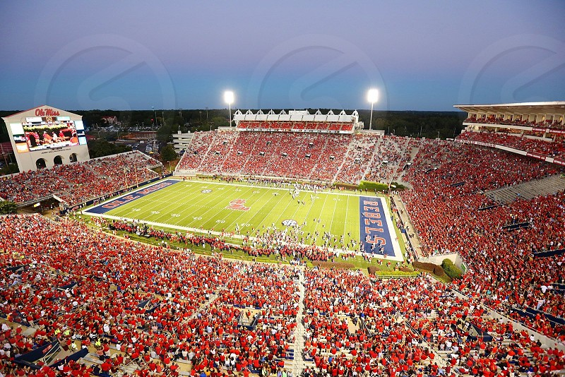 Vault Hemingway Stadium at the University of Mississippi photo