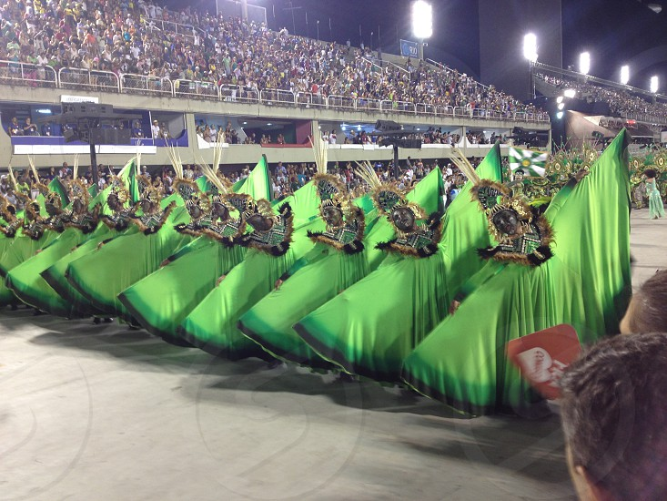 Desfile das Escolas de Samba do Rio de Janeiro Rio Carnaval no Sambódromo photo
