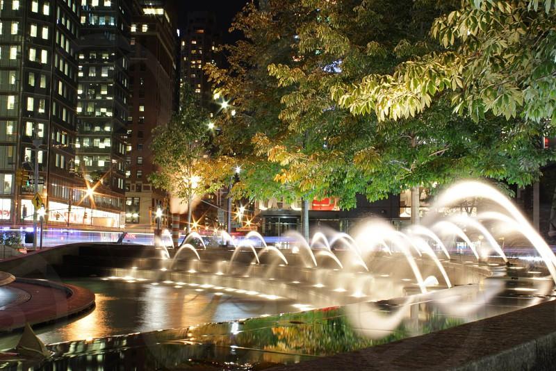 par water fountain photo