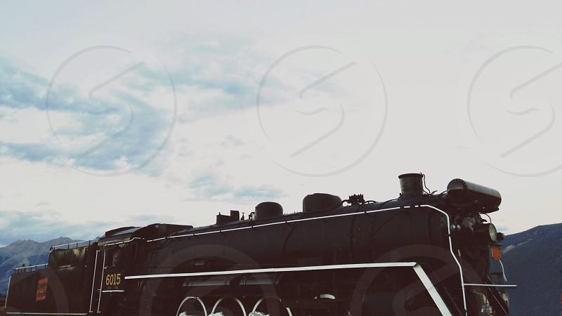 black train photo