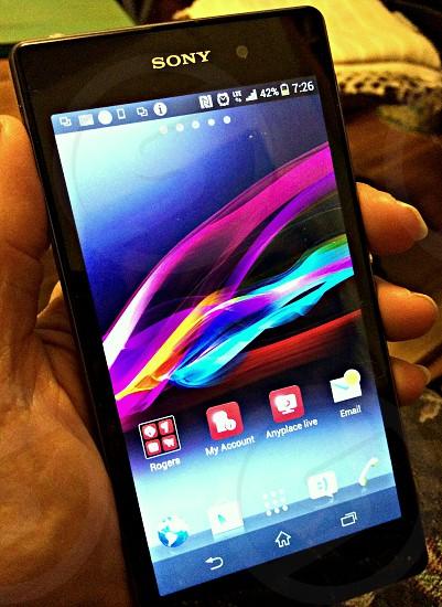 Sony mobile phone photo
