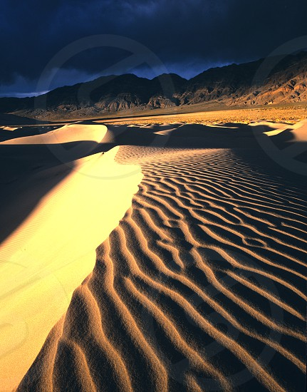 Eureka Sand Dunes Death Valley National Park California photo