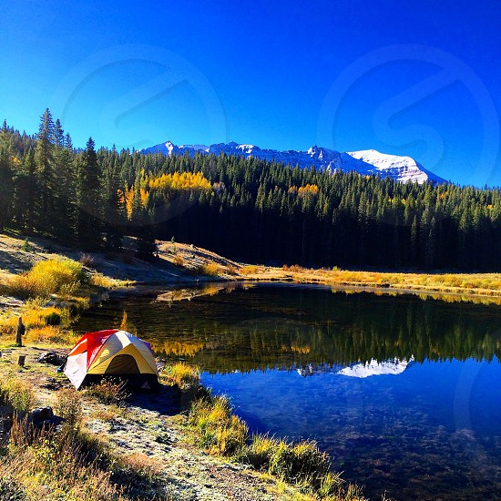 Colorado camping in Telluride  photo