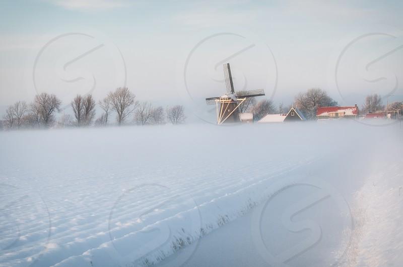 view of white snow photo