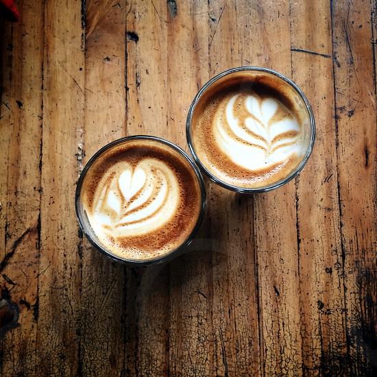 2 cappuccino  photo