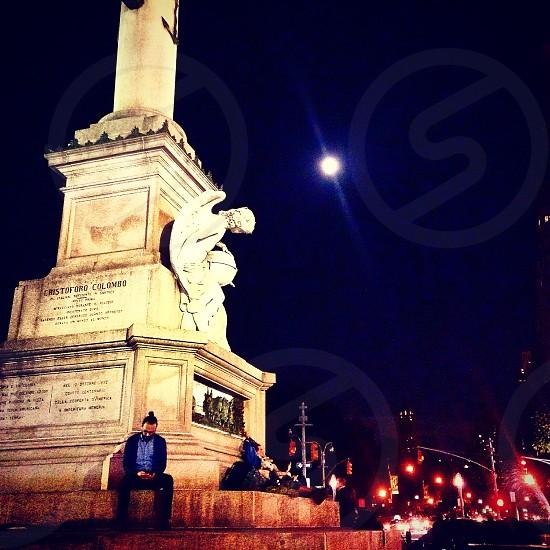 Full moon romance photo