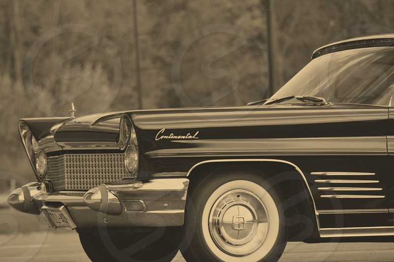 Vintage Lincoln. photo