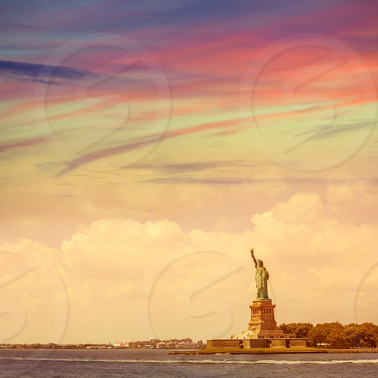Statue of Liberty New York American Symbol USA US photo