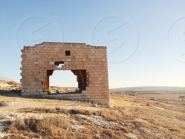 Abandoned Turkish home in southern Israel.  photo