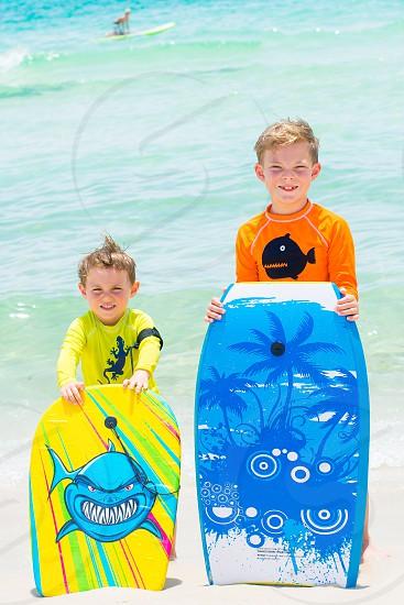 Surfing beach vacation water photo