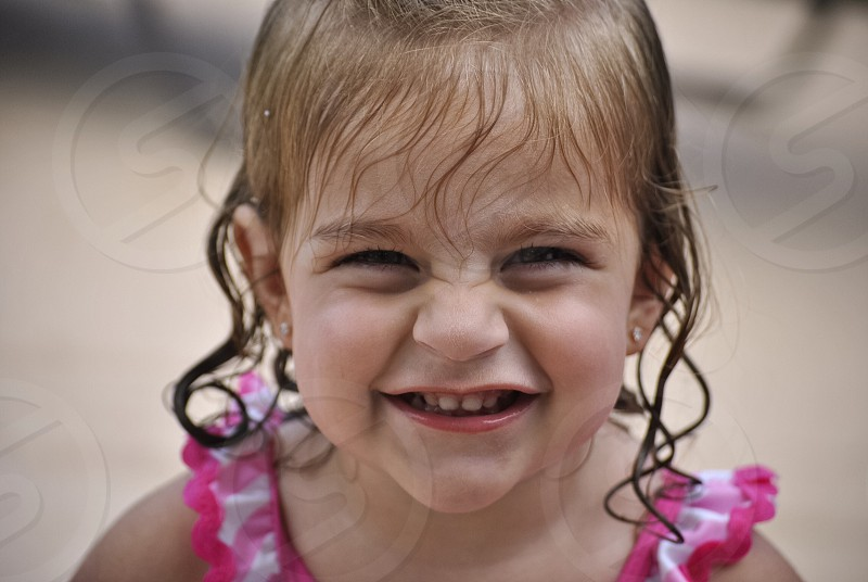 Sunday Fun day! #pool #summer #toddler #beautifulsmile #sun #color #bright #wet photo