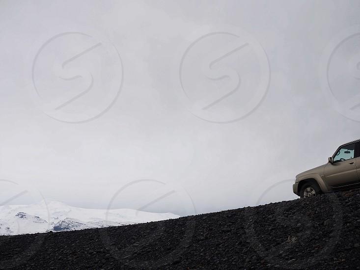 Car roadtrip nature Iceland mountain  photo