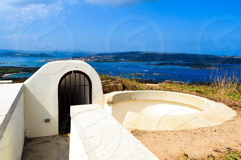 Caprera Sardegna sea sky fort photo