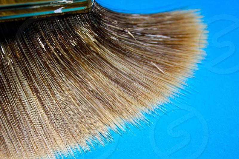 paint brush paint bristles photo