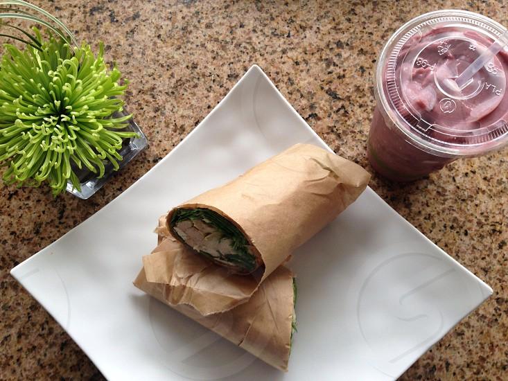 brown sandwich photo