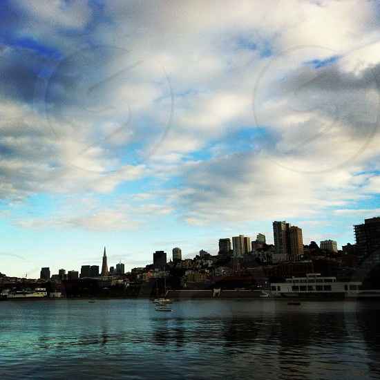 San Francisco Bay city view photo