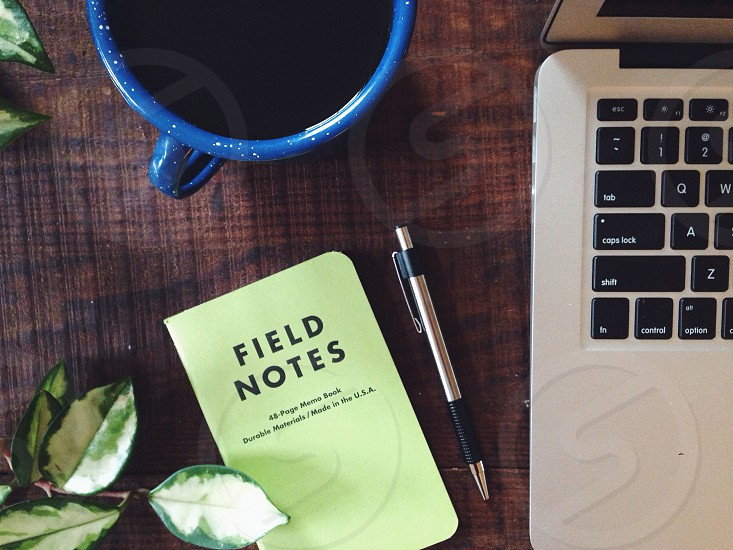 green field notes notebook photo