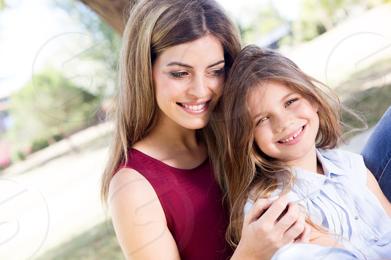mother's day mother daughter child kid hugging family love photo