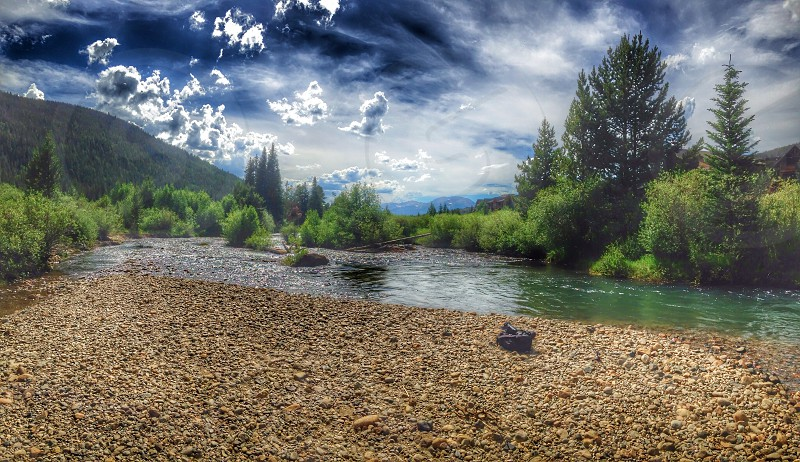 River mountains epic adventure photo