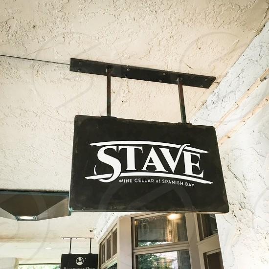 Stave Wine Cellar Sign exterior photo