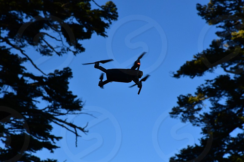 Drone in action photo
