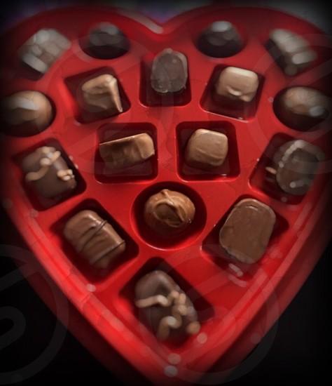 Crushed assorted chocolate.. photo
