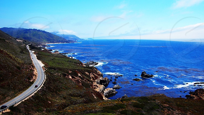 The expansive view from a serendipitous stop off Highway 1. July '12. photo