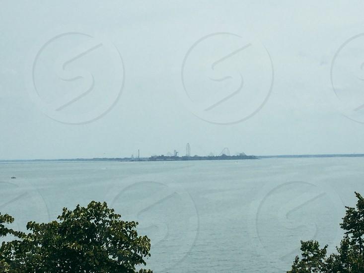 Lake Erie Amusement Park Island photo