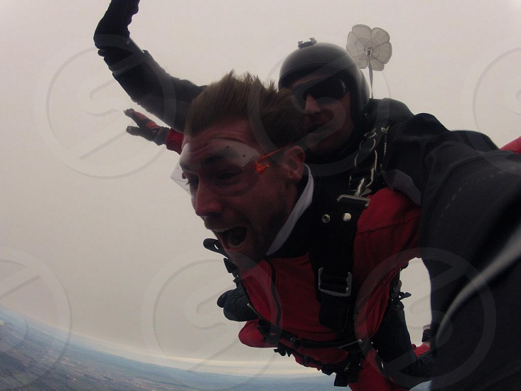 Skydive action sports extreme photo