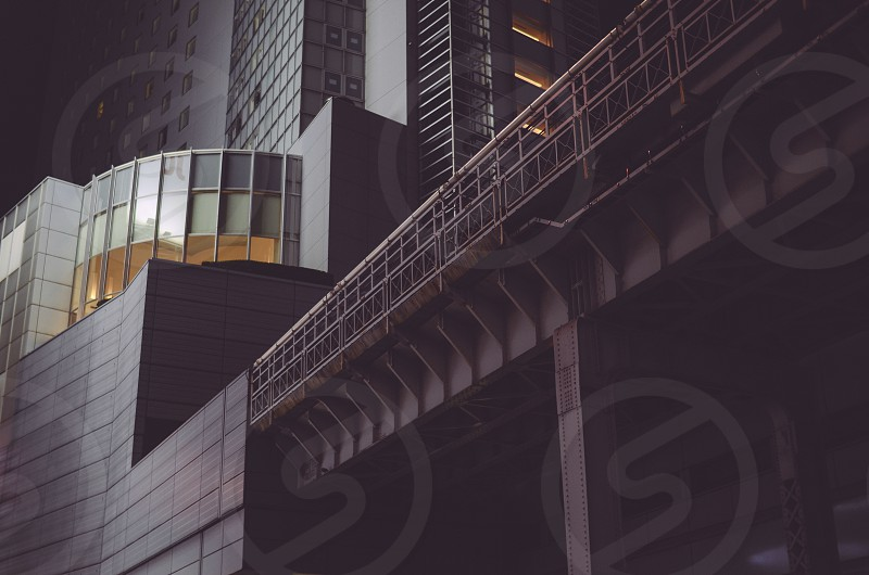 Shibuya architecture. Tokyo Japan. photo