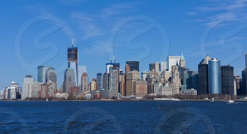 skyscrapers photo photo
