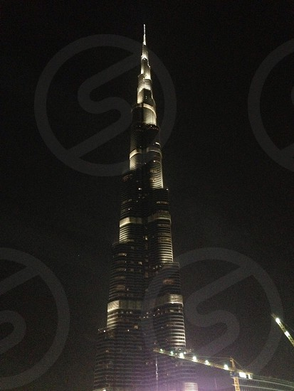 Dubai Burj Khalifa at Emirates Mall photo