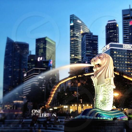 merlion singapore photo