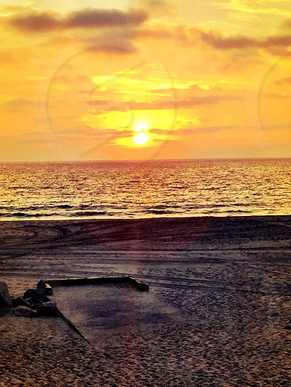 Hermosa Beach Sunset - October 10th 2014 photo
