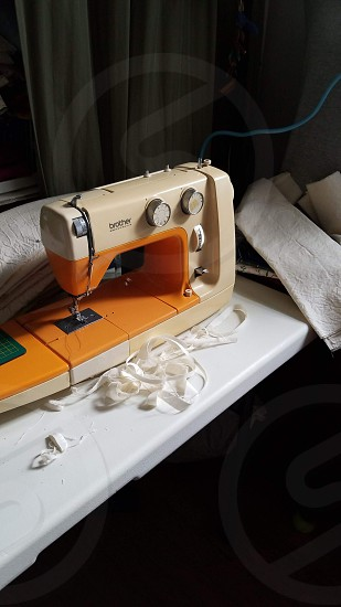 This is my office. The sewing room. photo