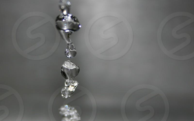 Water dripping sink photo