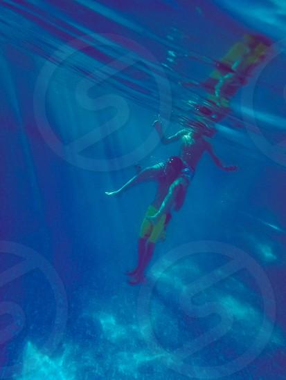 Playing Underwater photo