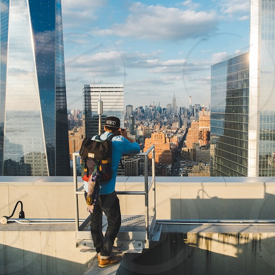 New York Action Capture photo