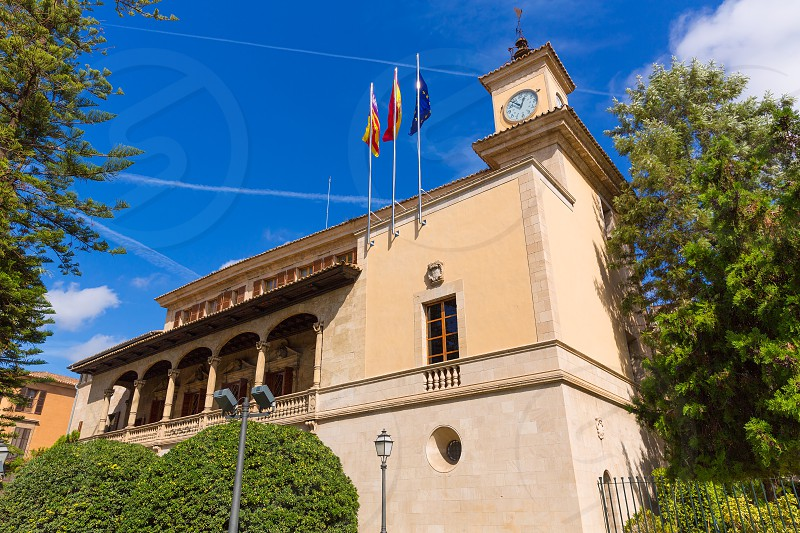 Mallorca Consulado de Mar beside Lonja in Palma of Majorca Balearic island at Spain photo