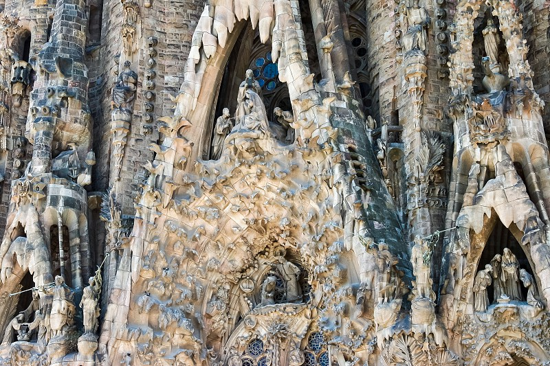 Gaudi's La Sagrada Familia Barcelona photo
