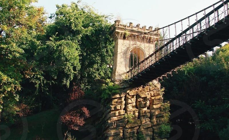 Romania Romanescu Park The bridge photo