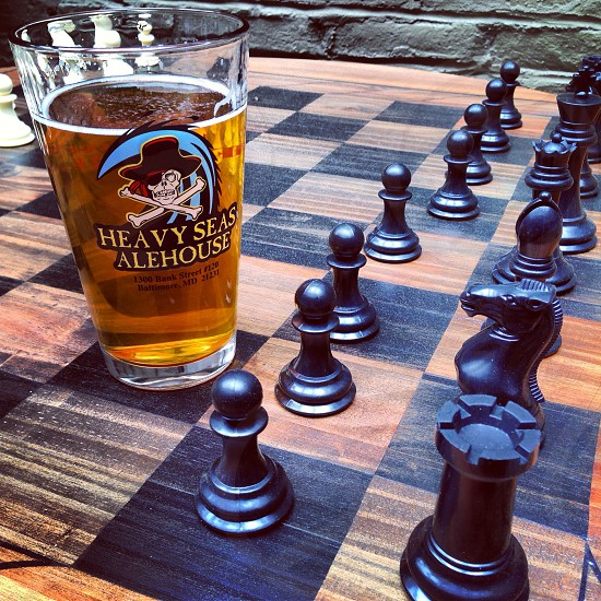 Beer and Chess photo