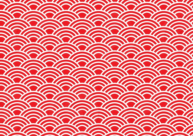 Chinese abstract wave pattern illustration photo